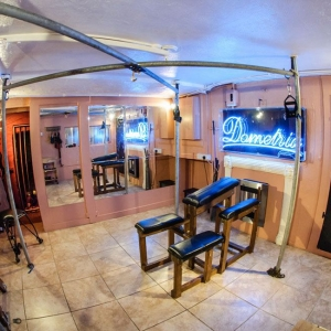 Brighton Erotic Boudoir Dungeon Room Neon Light